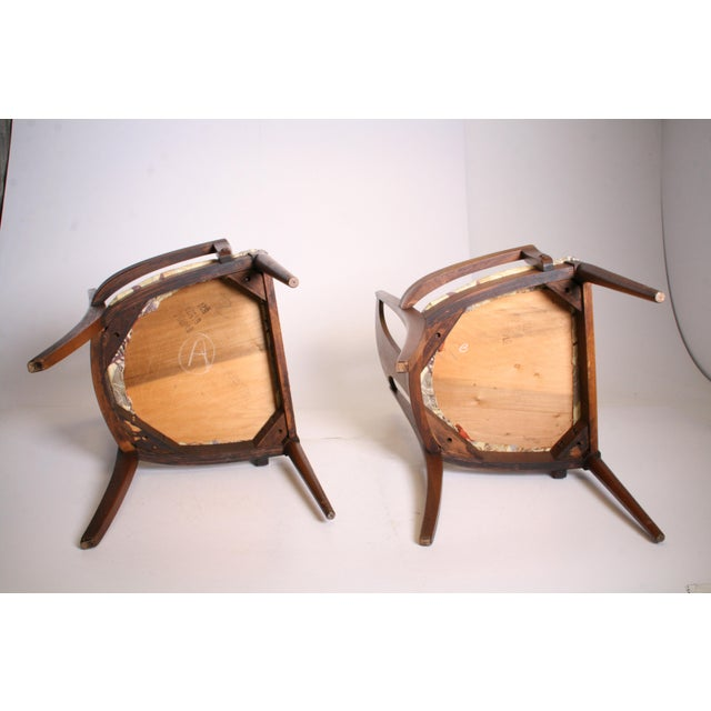 Mid Century Modern Broyhill Brasilia Dining Chairs - A Pair - Image 11 of 11