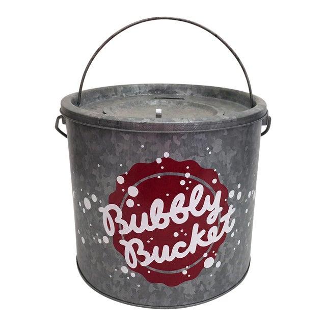 "Galvanized Metal ""Bubbly Bucket"" - Image 1 of 6"