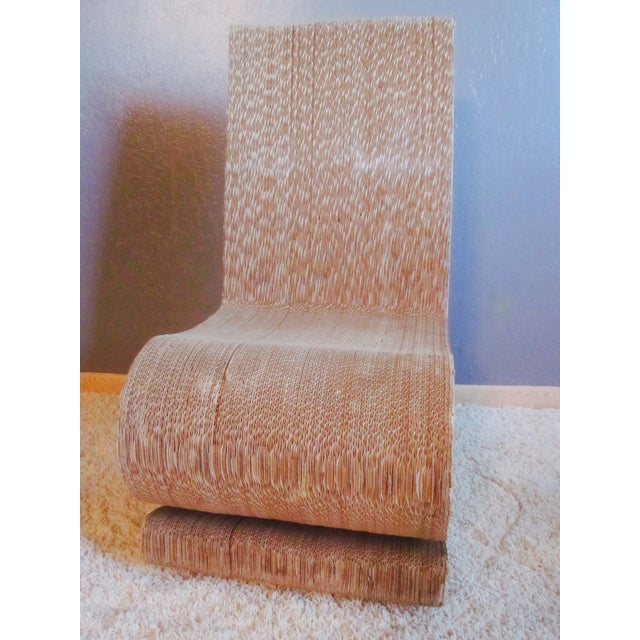 Gehry Inspired Cardboard Wiggle Chair - Image 7 of 10