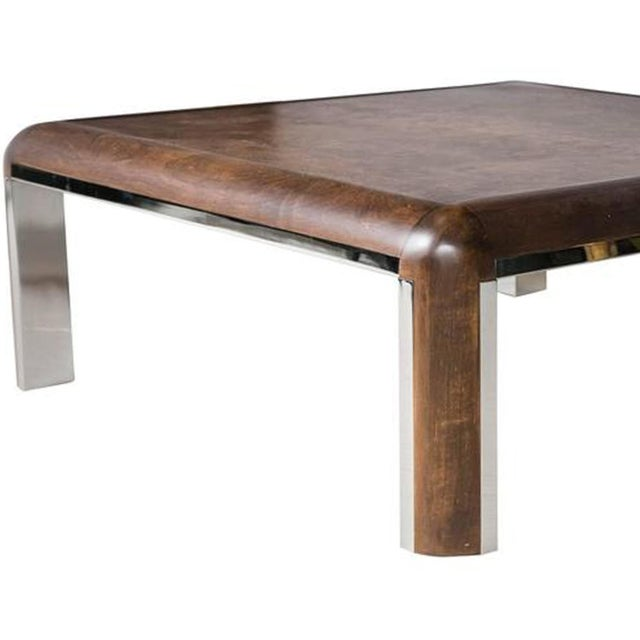 Burled Wood Coffee Table Chairish