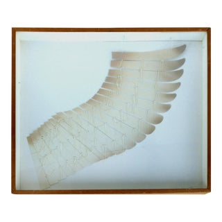 "Sven Lukin Mixed Media, ""Wing"""
