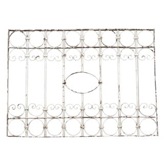19th Century Window Grill