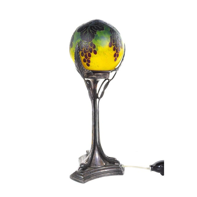 French Art Nouveau Table Lamp - Image 8 of 10