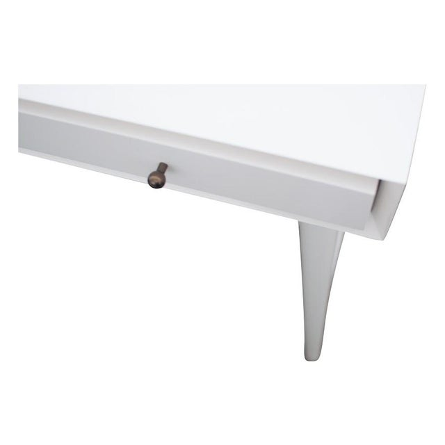 Image of Small West Elm Mid-Century Desk