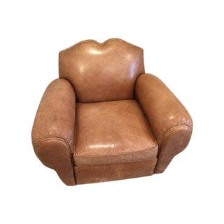 Centrum Modern Leather Club Chair