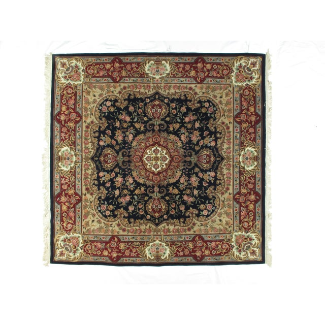 Image of Square Sino Persian Carpet - 8′ × 8′1″