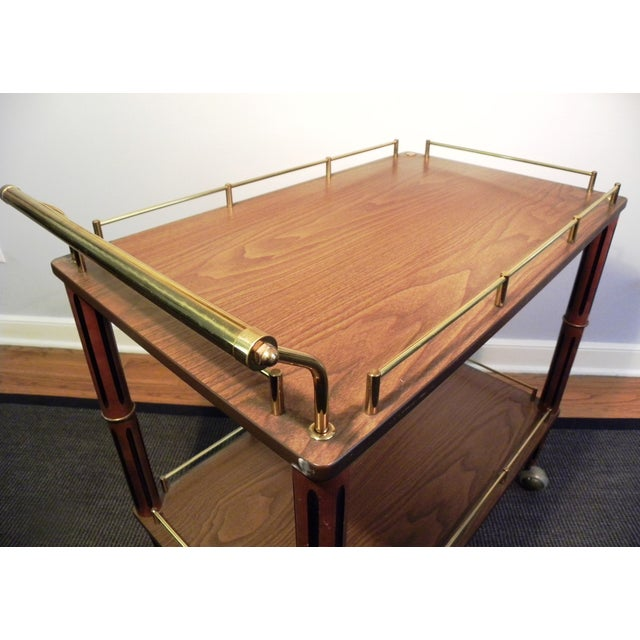 Mid Century Bar Cart or Tea Cart - Image 7 of 7