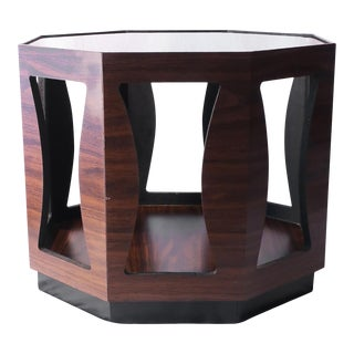 Mid-Century Modern Octagonal Side Table