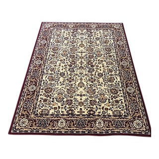 Oriental Rug With Victorian Style - 5'x8'