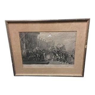 19th Century Napoleonic Engraving