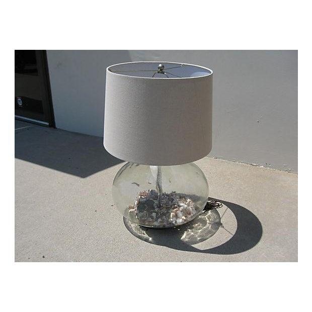 Coastal Glass Bottle Lamp - Image 5 of 5