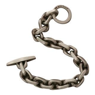 Hans Hansen Sterling Silver Chain Bracelet