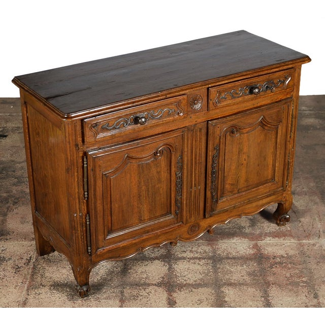 Image of 18th-Century Louis XV French Provincial Buffet