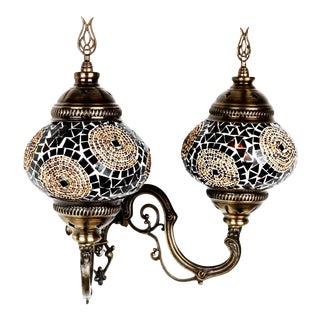 Turkish Handmade Mosaic Wall Lamps