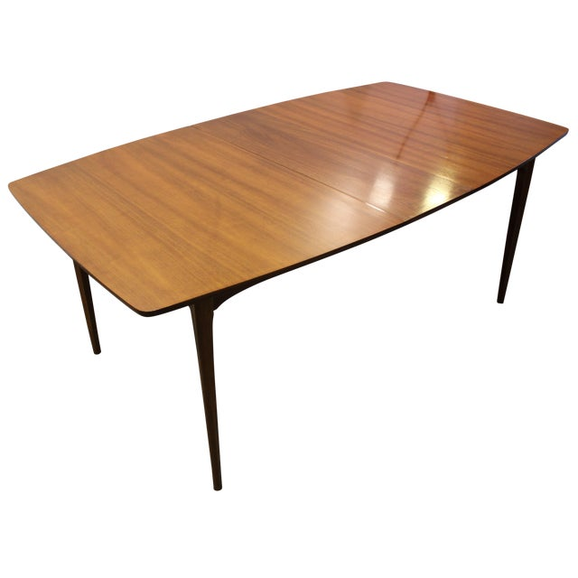 Image of Mid-Century Modern Walnut Brasilia Dining Table