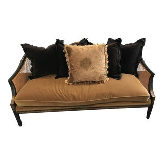 Gold & Black Nancy Corzine Sofa