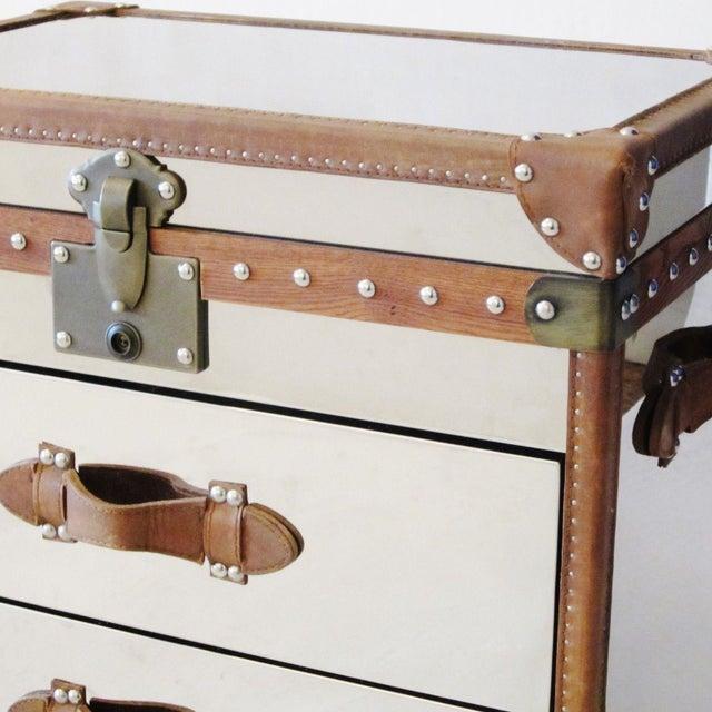 Restoration Hardware Trunk Chest Nightstands-Pair - Image 5 of 10
