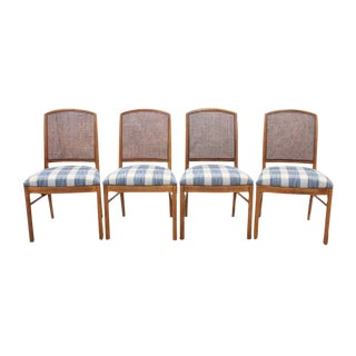 Midcentury Cane Back Dining Chairs