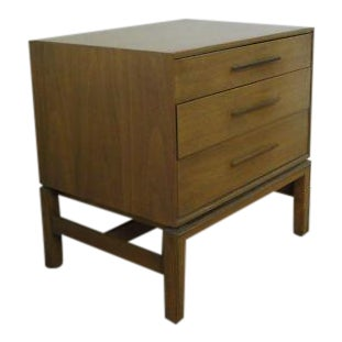 John Stuart Mid Century Danish Nightstand End Table