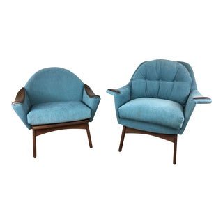 Adrian Pearsall Momma & Papa Chairs - A Pair
