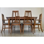 Image of Mid-Century Modern Walnut Dining Table -Refinished