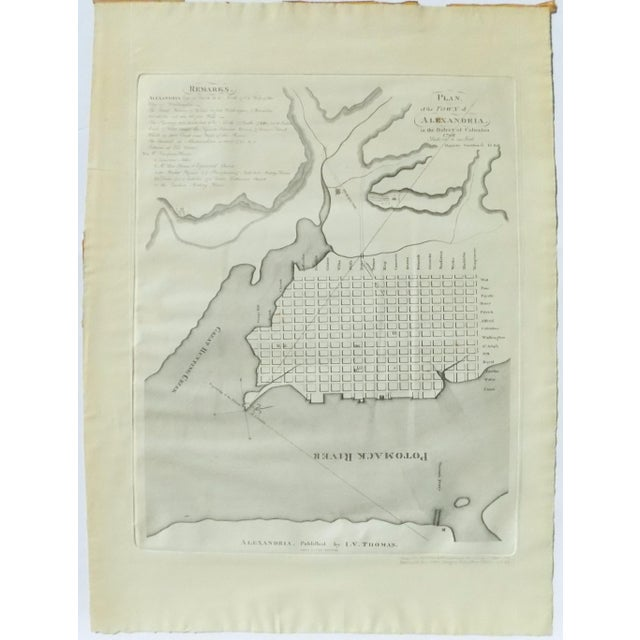 1944 Alexandria, Virginia Town Plan - Image 2 of 7