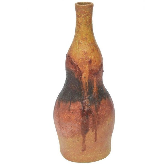Italian Signed Fantoni for Raymor Female Form Glazed Ceramic - Image 1 of 10