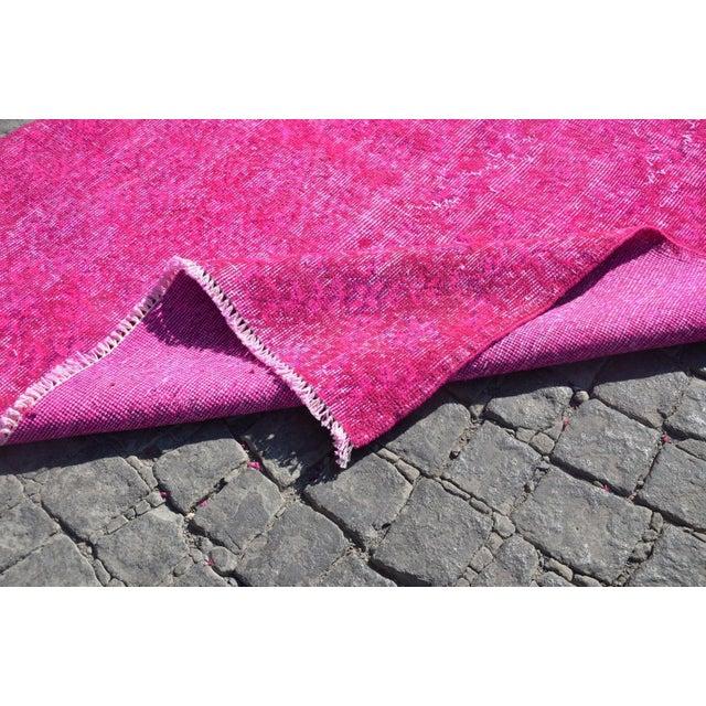 Turkish Floor Rug- 3′10″ × 6′11″ - Image 6 of 6