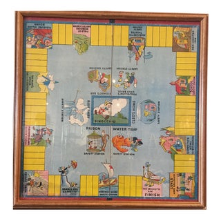 1939 Vintage Pinocchio Board Game