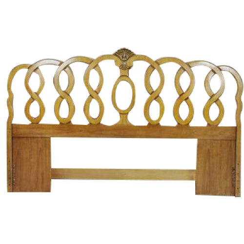 1960's Vintage French Provincial King Headboard - Image 1 of 5