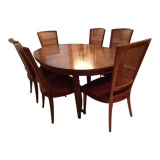 Baker Dinning Table & Chairs - Set of 7
