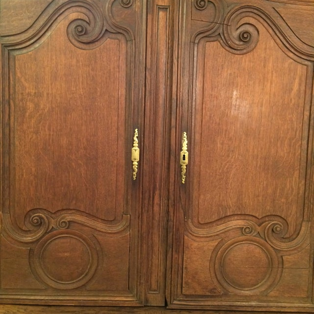 French Provincial Antique Buffet - Image 2 of 8
