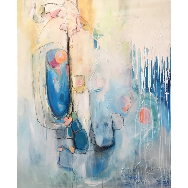 Image of Out of the Blue Original Painting