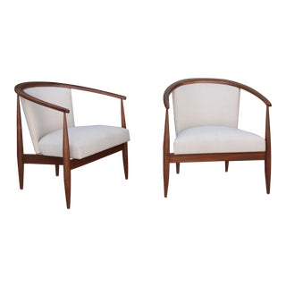 Kodawood Lounge Chairs - a Pair