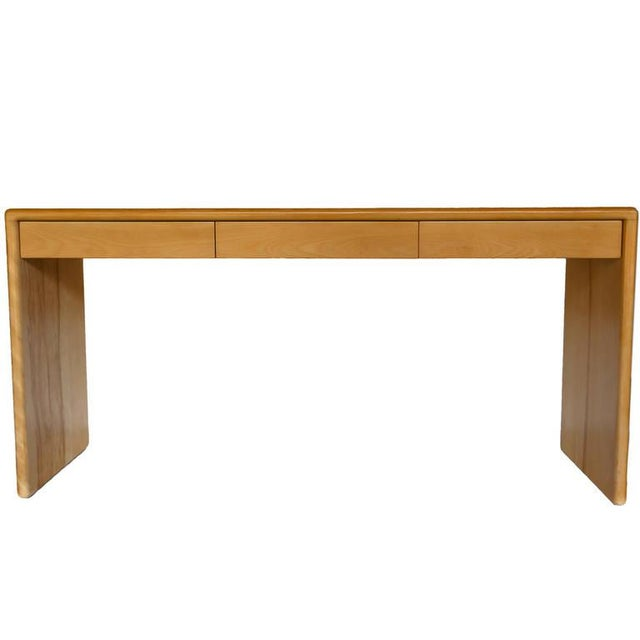 Gerald McCabe Solid Birch Console Table - Image 1 of 7
