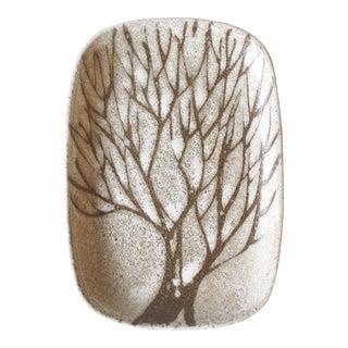 Mid-Century Anderson Design Studio Ceramic Tree Dish