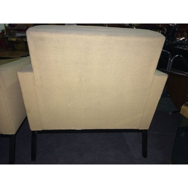 Image of Mid-Century Lounge Chairs- A Pair