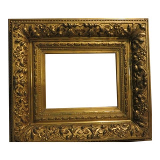 Vintage 19th Century Barbizon Frame Gild Gold