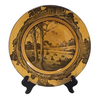 Arts & Crafts Plate by Royal Doulton