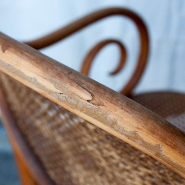 Vintage Thonet Arm Chair - Image 8 of 11