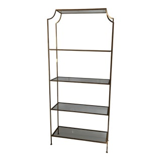 Worlds Away Chloe Gold Etagere