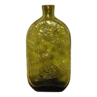 Wayne Husted Designed Glass Bottle