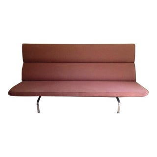 Mid-Century Eames Compact Sofa
