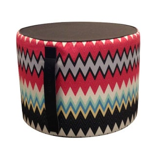 MissoniHome Marki Cylindrical Pouf