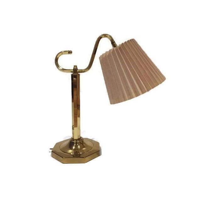 Vintage Modern Brass Desk Lamp - Image 5 of 6