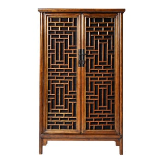 Chinese Lattice Cabinet