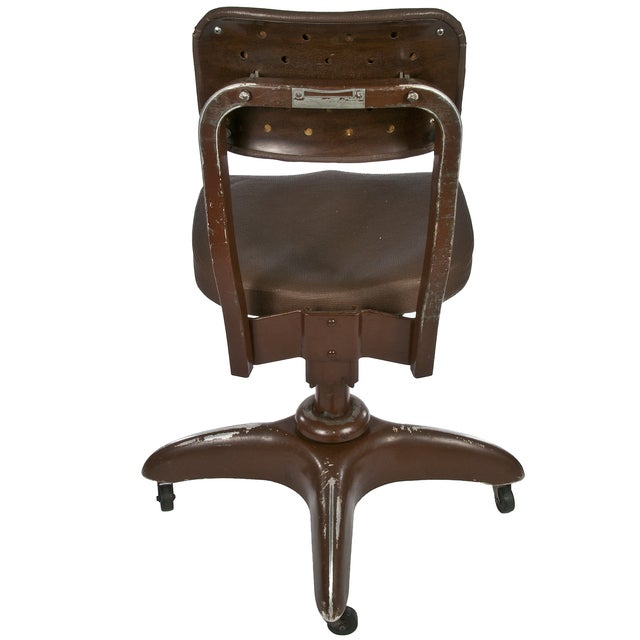 Vintage Goodform Stenographer's Office Chair - Image 3 of 4