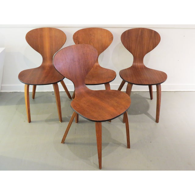 Vintage Cherner Dining Chairs - Set of 4 - Image 2 of 9