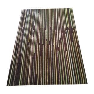 Emma Gardner 'Tiny Stripes' Rug - 6′ × 9′