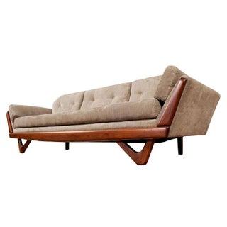 Restored Mid Century Modern Gondola Sofa
